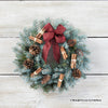 Festive Foliage Door Wreath