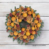 Chic Clementine Door Wreath