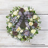 Blizzard Beauty Door Wreath