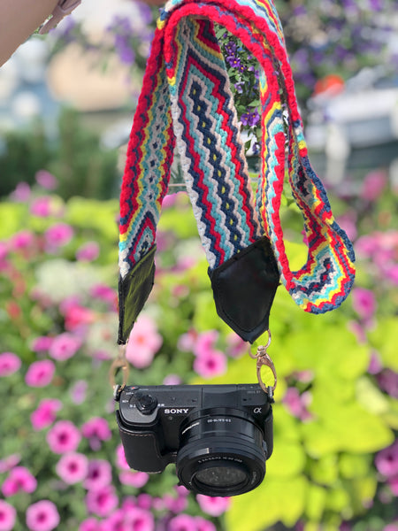 Colorful 4U Red Camera Strap | Bag Strap for Spring/Summer