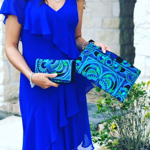 Colorful 4U Blue Fashion Accesories for Spring/Summer