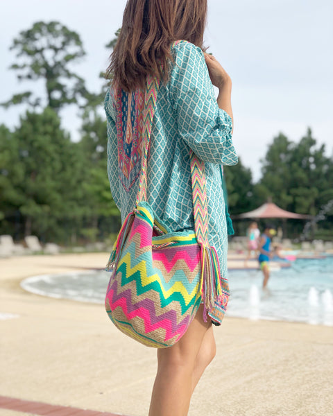 Agua/Turquoise Bag | Summer Colors | Colorful 4U Summer Collection