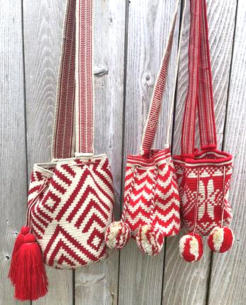 Scarlet Red Crossbody Bags | Spring Fashion | Colorful 4U Scarlet Crush Collection