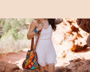 Summer & Spring Bags Collection-Colorful Hand-crocheted Bohemian Bags