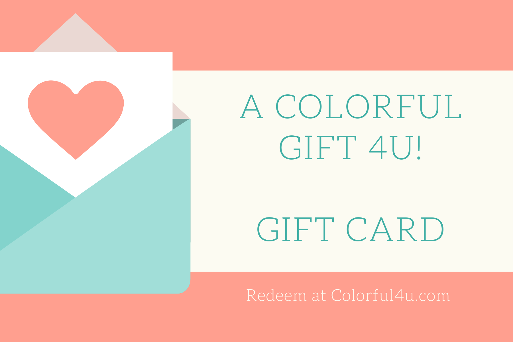 Colorful4U Gift Cards