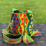 PREMIUM Mini Croche t Bag - Authentic One-thread Wayuu Bag -  Style MWPP16