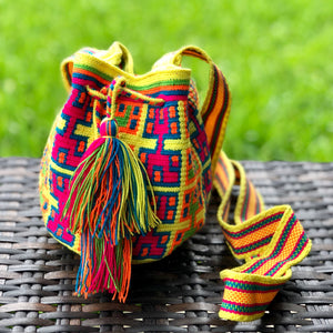 PREMIUM Mini Crochet Bag - Authentic One-thread Wayuu Bag