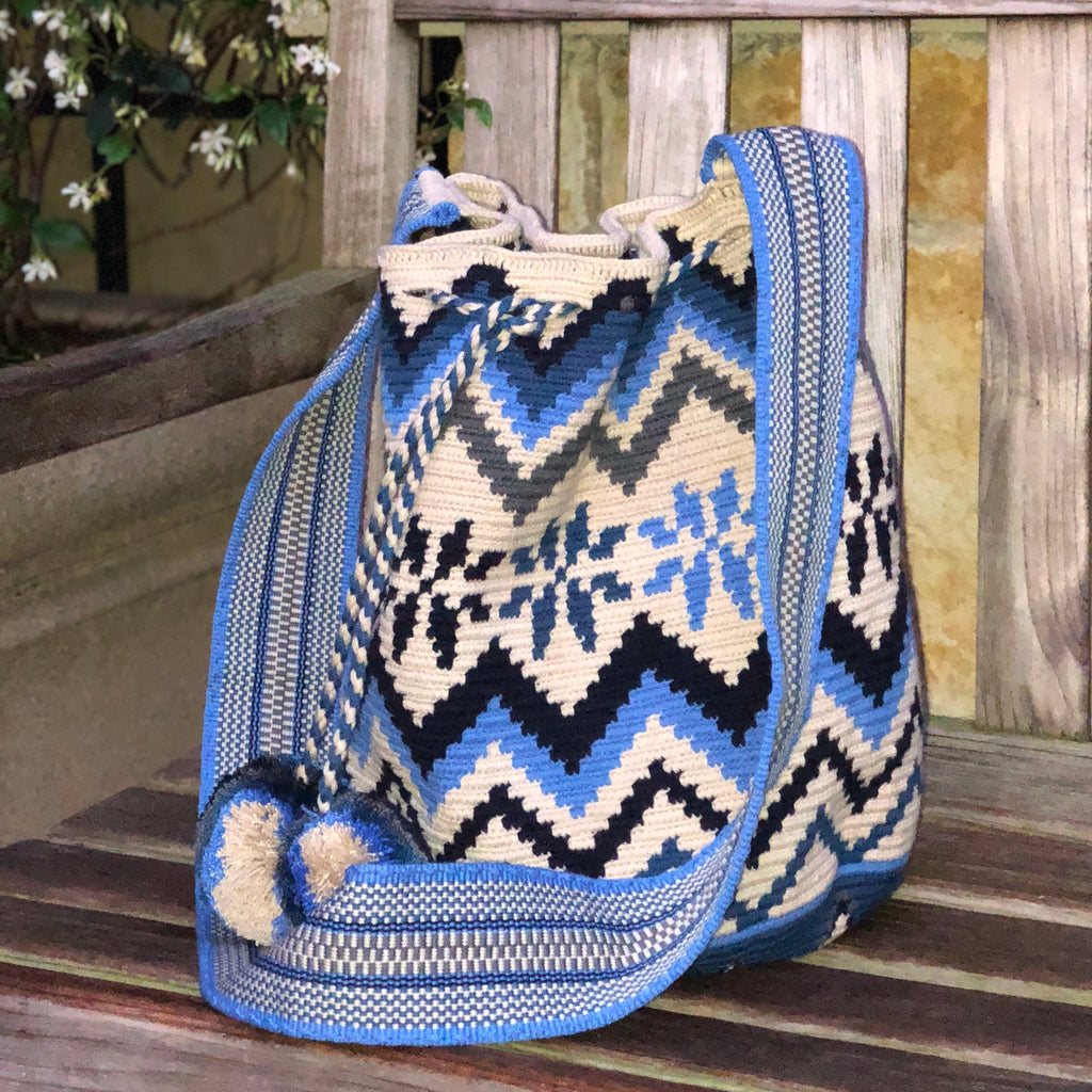 Special Edition Crochet Bag - Crossbody Boho Bag - Style MWDE39