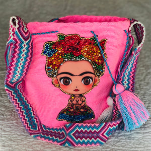 Frida Tribute - Special Edition Crochet Bags - MWDE51