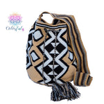 Premium Crochet Bag -  Crossbody/Shoulder Bag- Authentic Single Thread Wayuu Bag - Style MW1H11