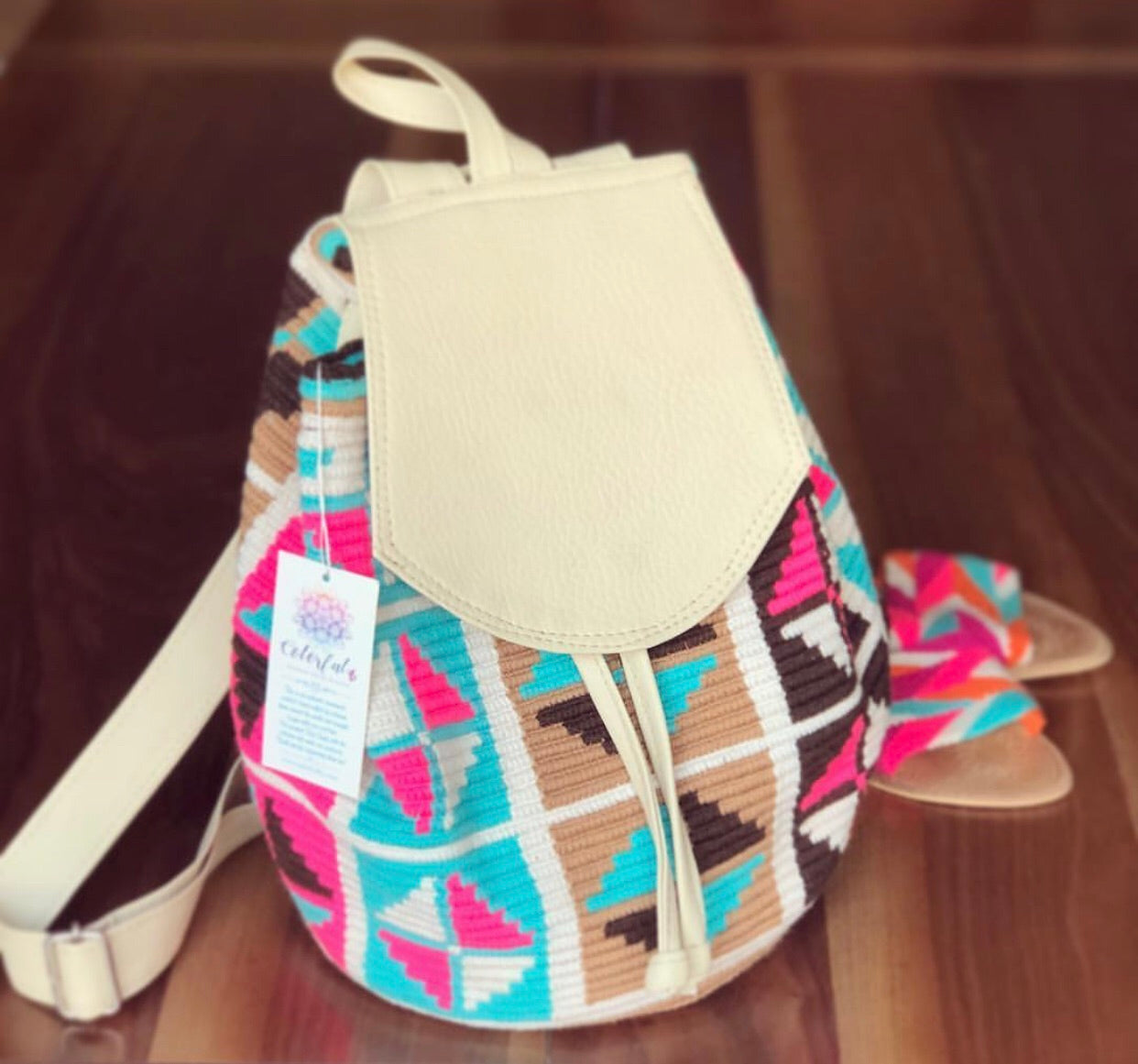Travel Backpacks | Crochet Bags with Leather