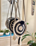 Trending Summer Bag | Boho Handbags | Rounded Hand-Crocheted Bags