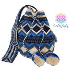 Special Edition Crochet Bag - Crossbody Boho Bag - Style MWDE32