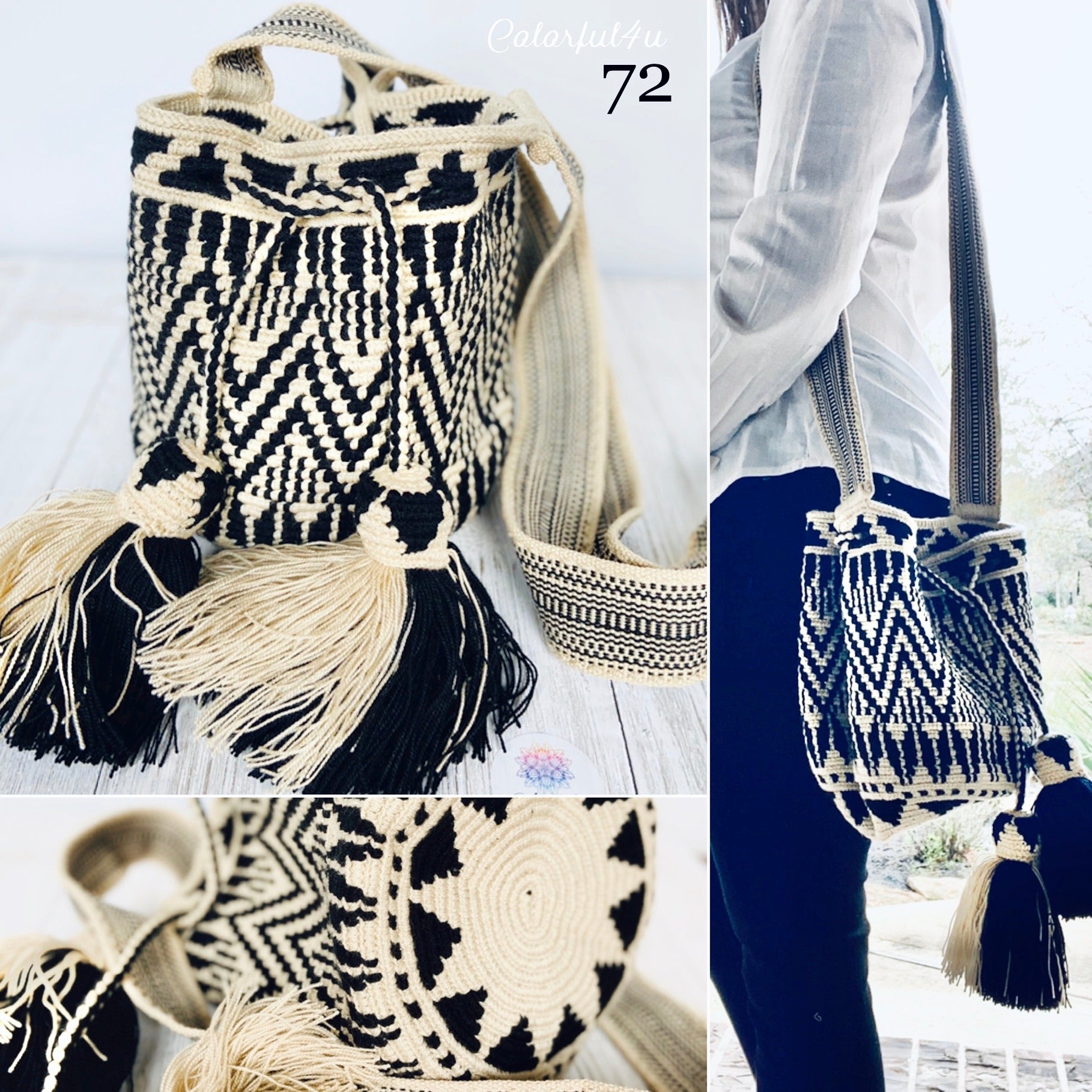 Perissa Beach MEDIUM Crochet Bags - Special Edition/Premium