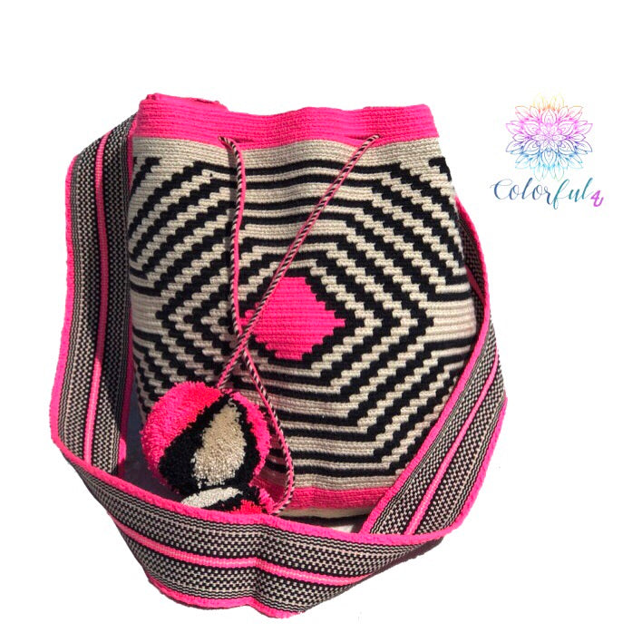 Special Edition Crochet Bag - Crossbody Boho Bag - Style MWDE38