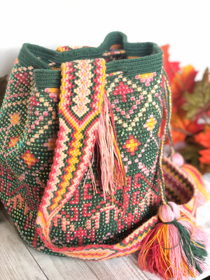 Desert Dreams Crystal-embellished Crochet Bags (L)