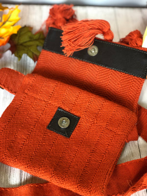 Fall Hand-Woven Fanny Packs/Bumbags -Travel Waist Bags
