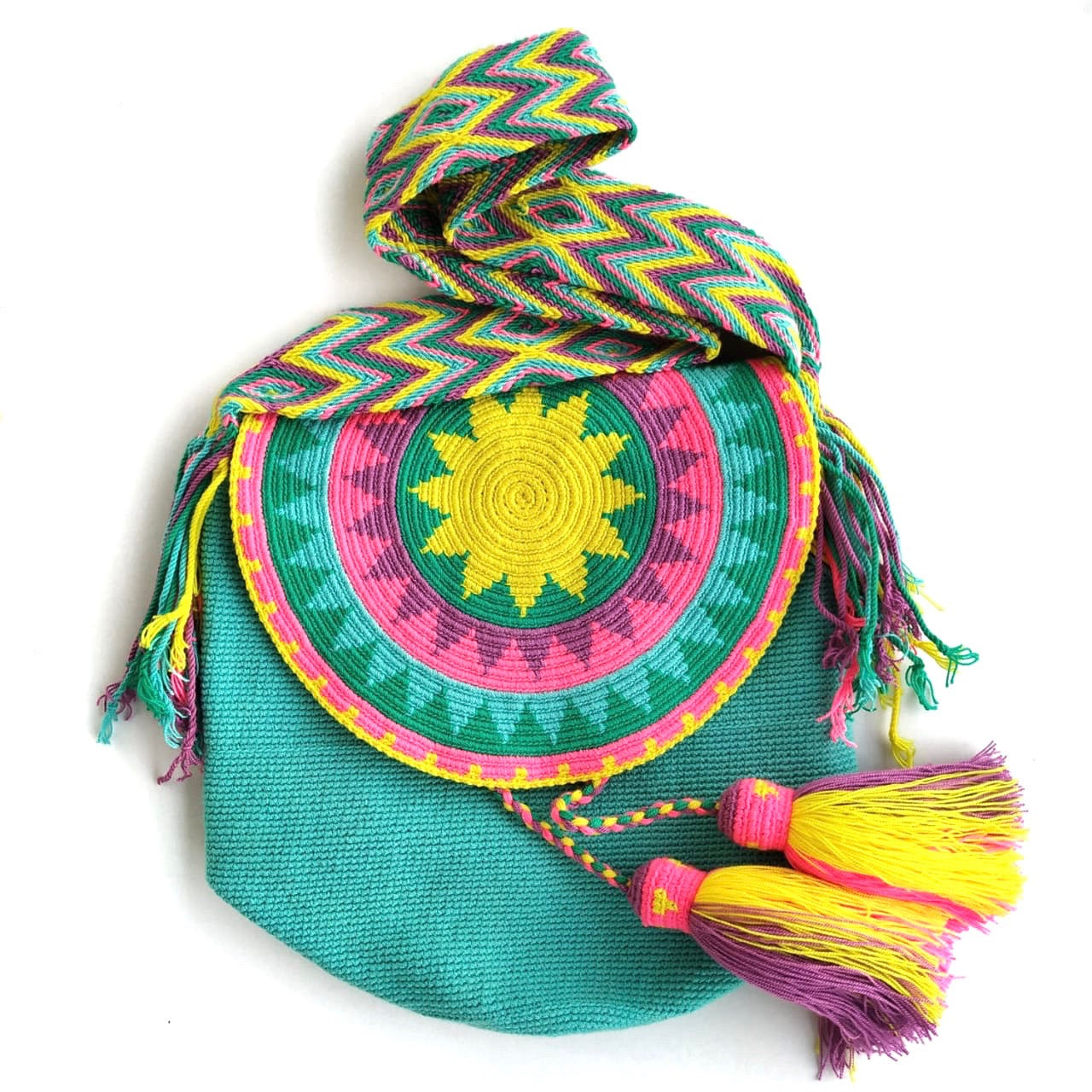 Colorful Crochet Bags with Cover