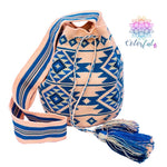 Premium Crochet Bag - Crossbody/Shoulder Bag- Authentic Single Thread Wayuu Bag - Style MW1H05