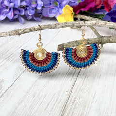 Colorful4u | Blue Casual Earrings