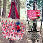 Premium Beach/Tote Crochet Bag - Authentic Wayuu Bag - Never Full
