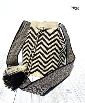 Chevron Premium Crochet Bag | Single Thread Hand-Crocheted Bag | Fashion Bag