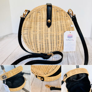 TRENDING SUMMER BAG | STRAW-BASKET | SUMMER ROUNDED BAG