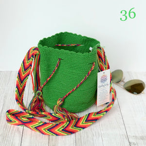 Solid Mini Crochet Bags | Spring/Summer Colors