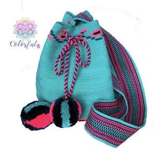 Turquoise Love - Special Edition Crochet Bags - Crossbody Boho Bags