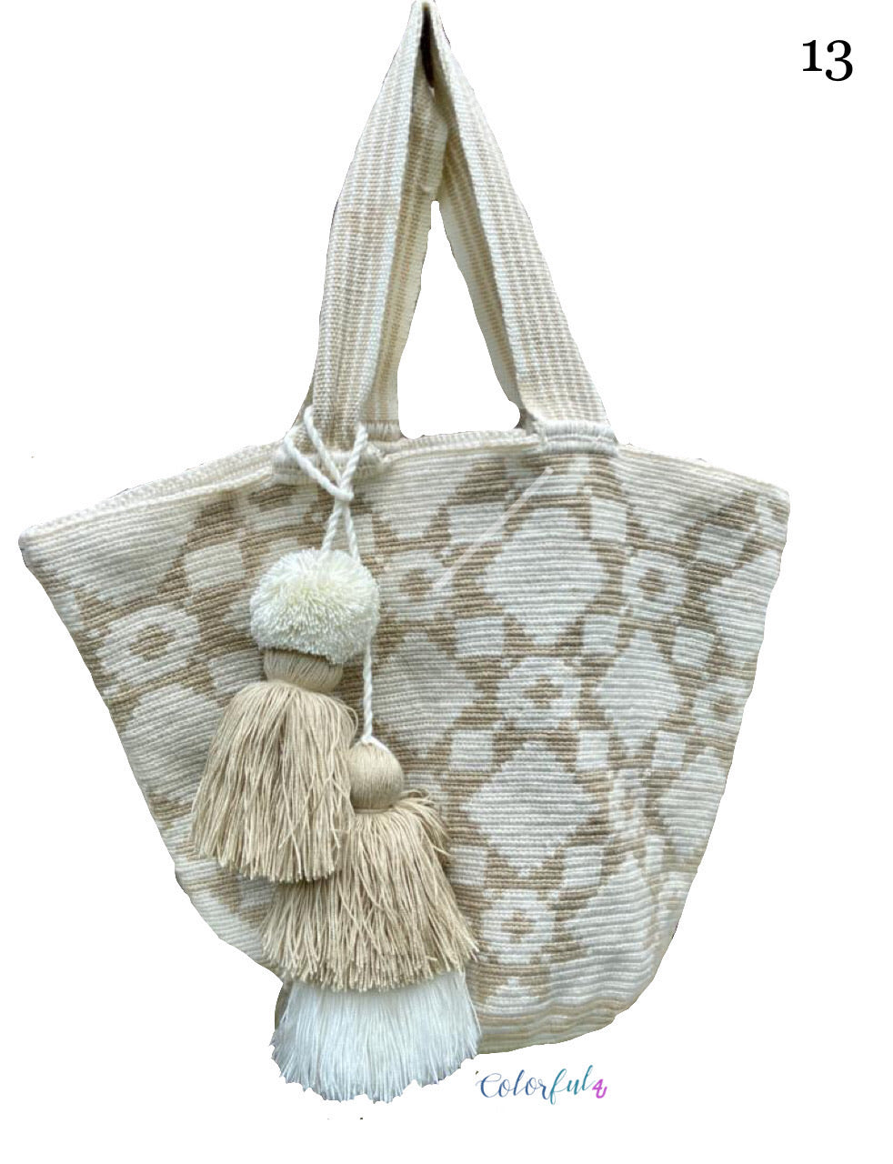 white Tote Bag | Beach Bags | Beach Totes | Summer Bags
