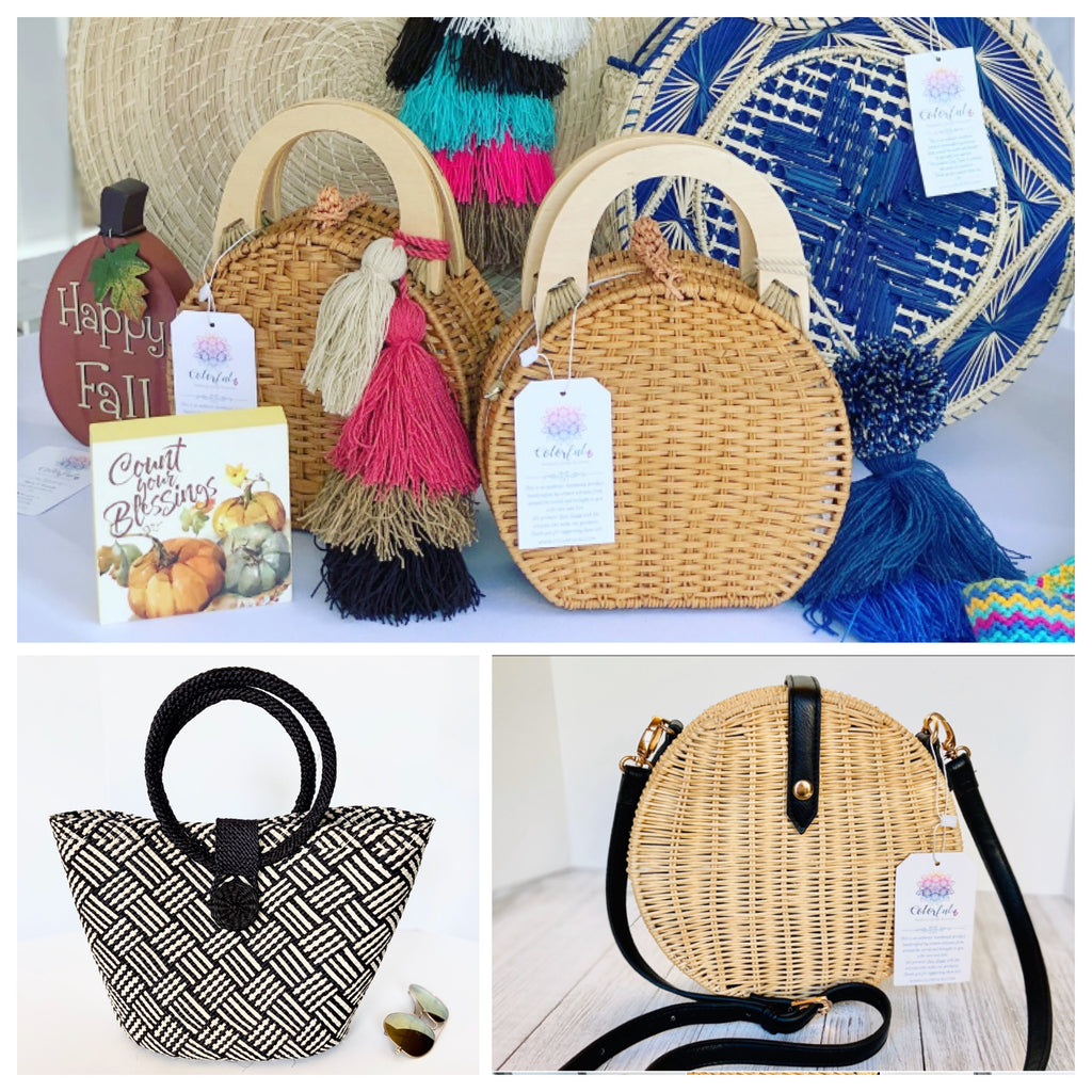 TRENDING SUMMER BAG | STRAW-BASKET | TRENDING BAGS |on SALE