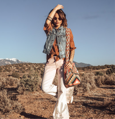 Desert Dreams Crochet Bags (L) - Earth Tones