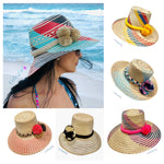Handwoven Boho Hat | Autthentic Wayuu Hat | Summer Hat | Sun Straw Hat