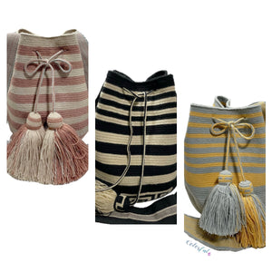 Striped Crochet Bags | Special Edition