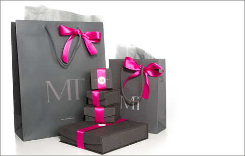 Mari Thomas jewellery packaging