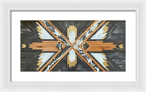 Gold Chariot - Framed Print
