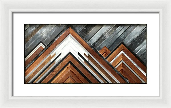 Midnight Bluff - Framed Print