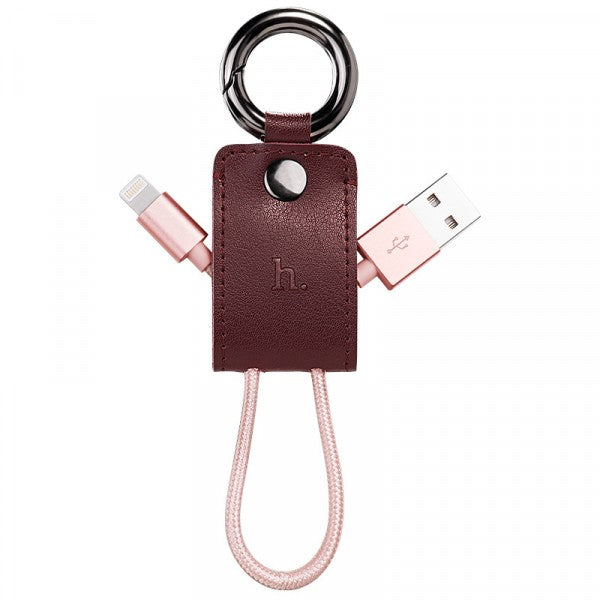 iPhone, iPad & iPod Lightning Keychain Charging Cable