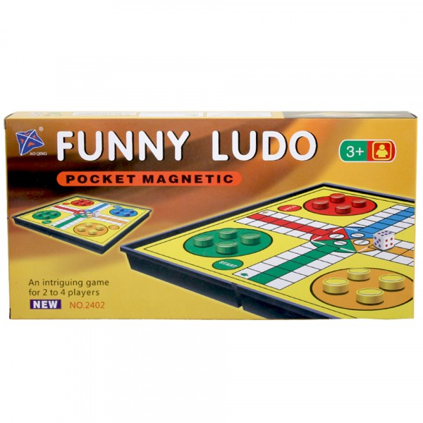 Portable ludo - magnetic for kids