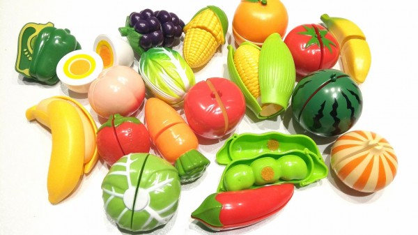 Vegetable cutting plastic best toy for kids