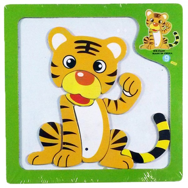 Magnetic board - tiger in besChildren will exercise their imaginations for hours with the magnetic board - tiger.t quality