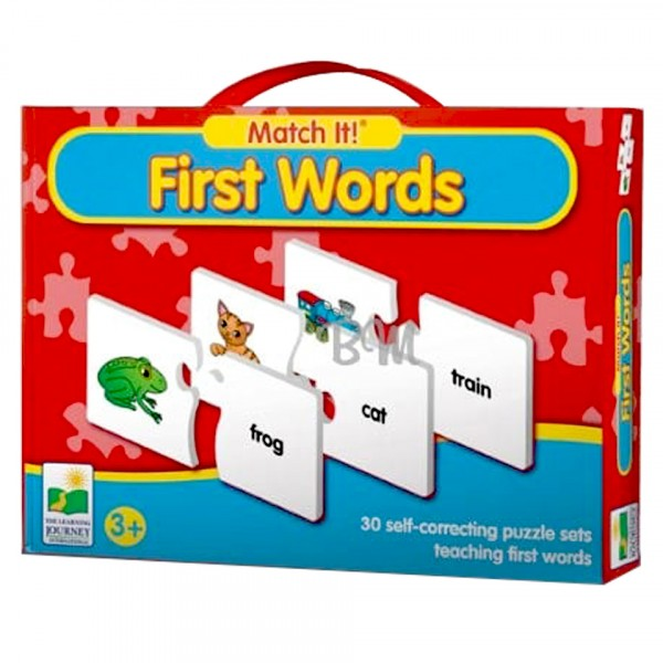Match it - first words puzzle best in quality