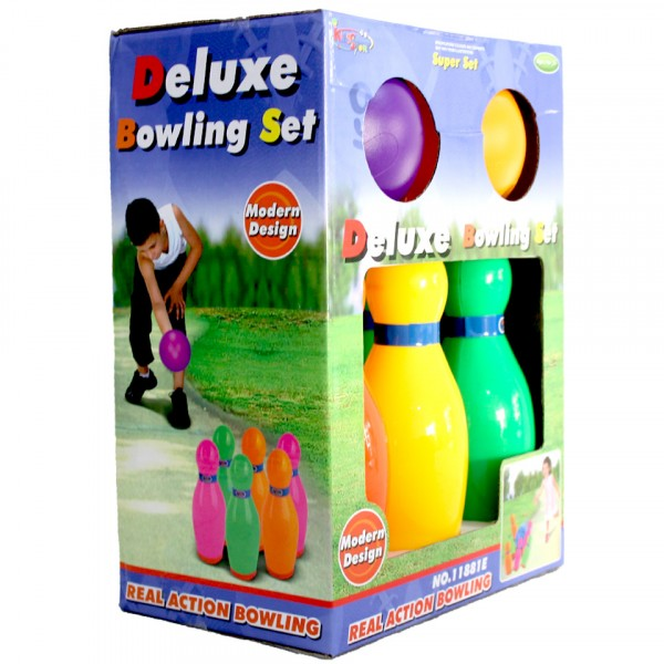 Deluxe Super Bowling Set Toy for Kids