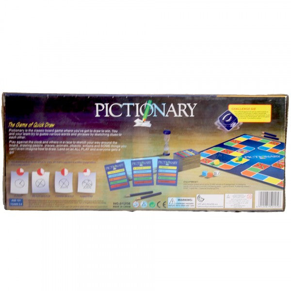 Pictionary board (for above 12 years)