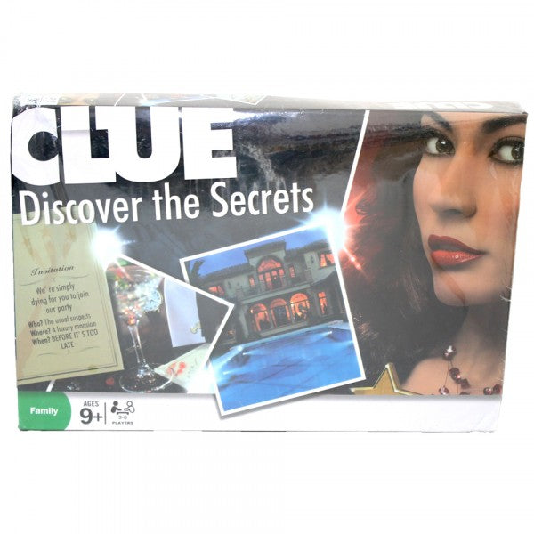 Intelligence board game - Clue