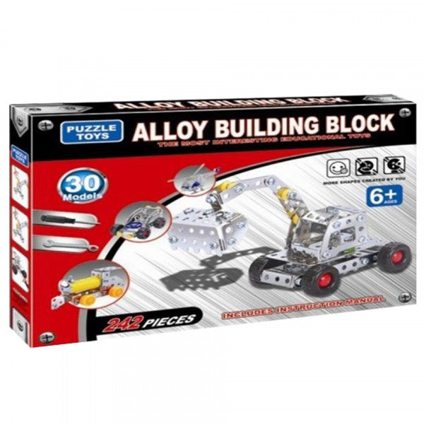 Mechanix building set (30 models) for kids