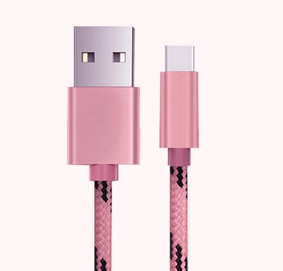 Metal Braided Charger USB Cable For iPhone 6 7 6s plus 5 5s iPad Air
