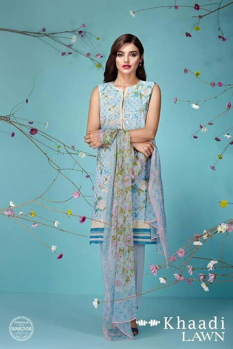 Khaadi Lawn Dress