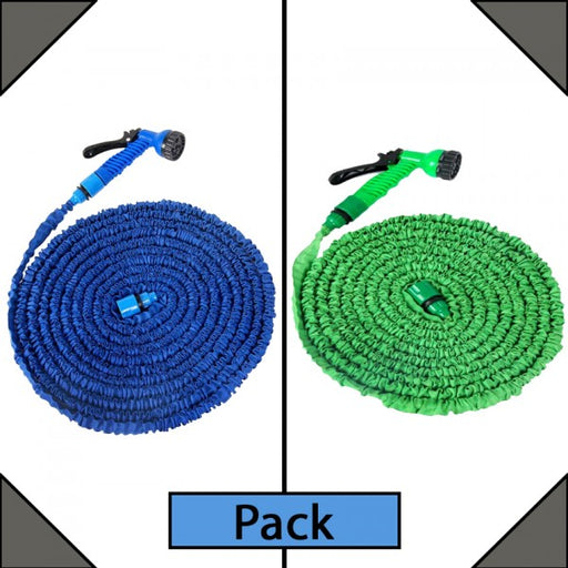 Pack of 2 Magic 100ft & 75ft Hose Pipes