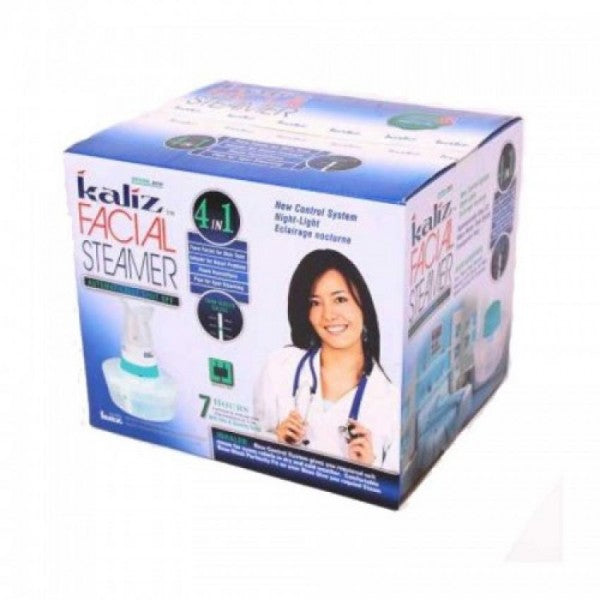 Kaliz Facial Steamer - 4 in 1 - White